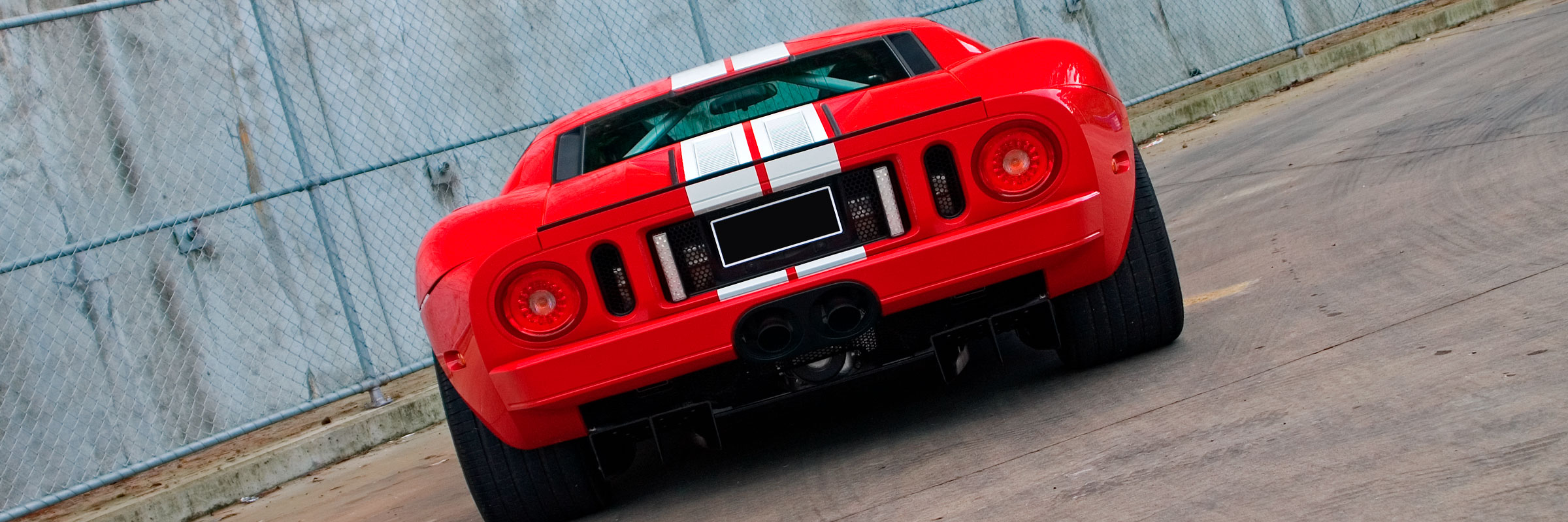 Ford GT Red Rear